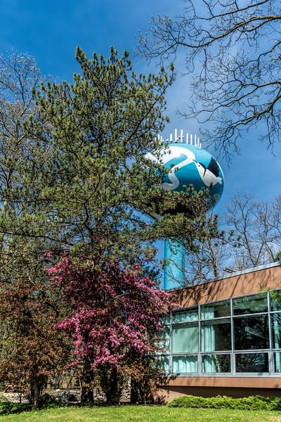 Water tower as public art
