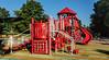 Playground equipment at County Farm Park
