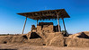 Ancient 'Big House' under a modern ramada