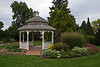 The gazebo that sits at the heart of the Demonstration Gardens.<br /> <br /> Hidden Lake Gardens, Lenawee County, Michigan<br /> September 27, 2011