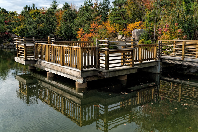 The Moon Viewing Deck in autumn
