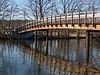 Footbridge, Gallup Park