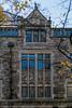 Building detail, Lawyers Club, Law Quad