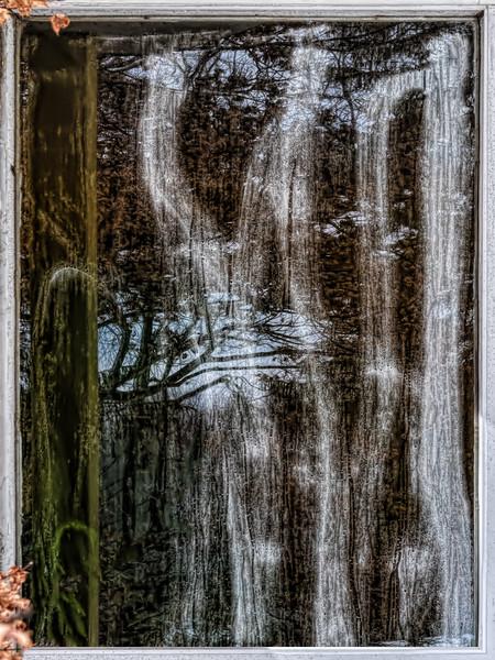 Ghostly streaks - unframed version