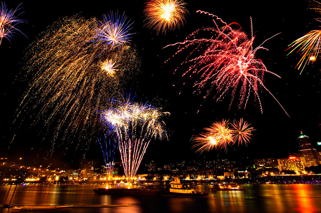 Independence Day, July 4, Portland Oregon