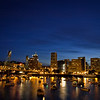Portland Oregon and Willamette river