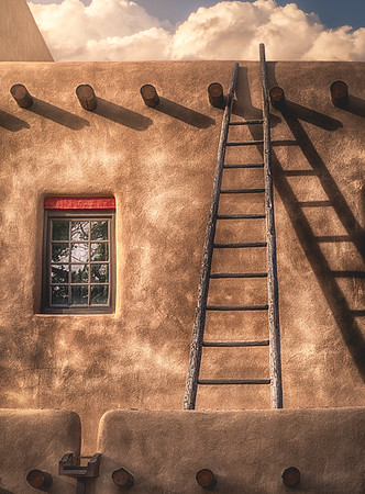Adobe Ladder Light