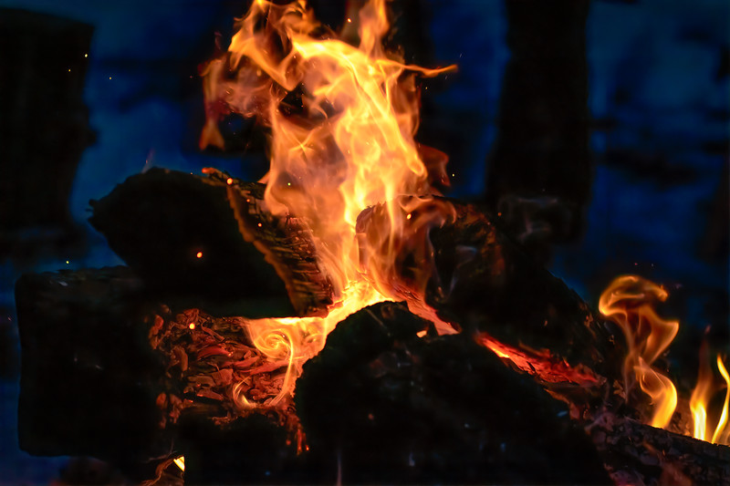 Winter Bonfire