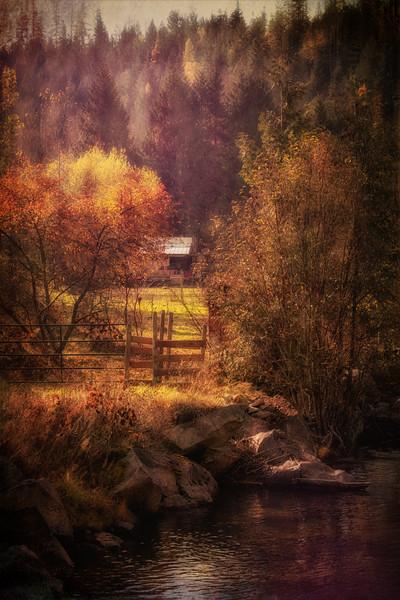 Pass Creek Fall