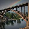 Rainbow and Bridge