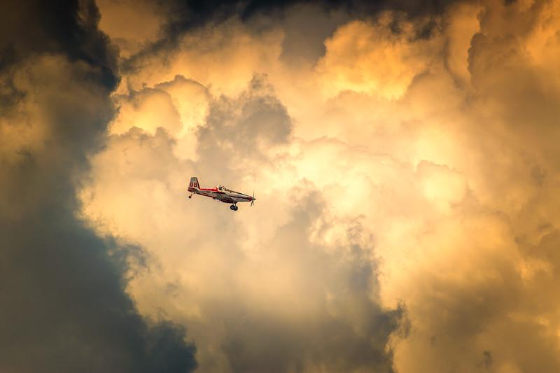 Flying Through
