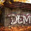 Graffiti in Autumn