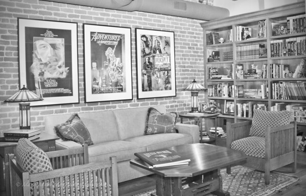 09.26.12 A Kickass Director's SF Office in B&W