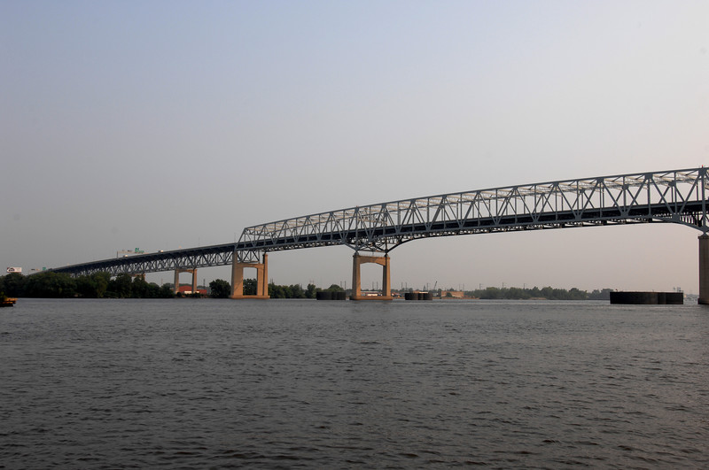 Betsy Ross Bridge from New Jersey side