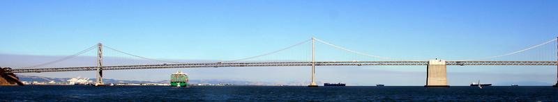 San Francisco-Oakland Bay Bridge, Western Span, 30 Jun 2008.