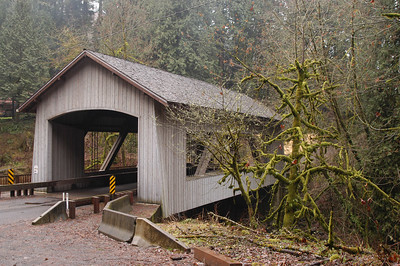 Covered Bridge at Cedar Creek, Washington