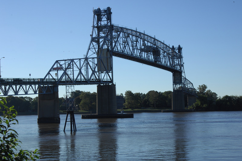 Burlington-Bristol Bridge during opening