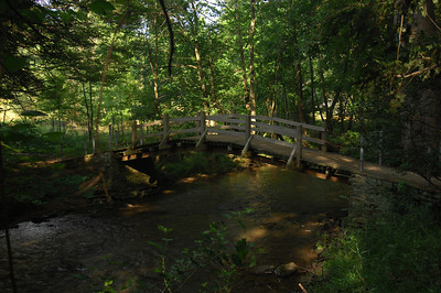Walk Bridge over Valley Creek (Valley Forge)