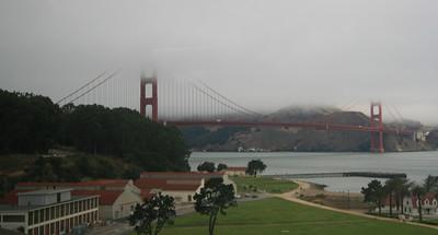 Golden Gate Bridge, San Francisco. 30 Jun 2008.