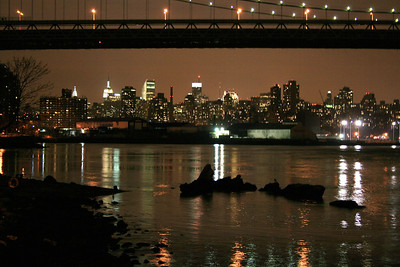 Manhattan from Astoria Park, Queens, 31 Mar 2008