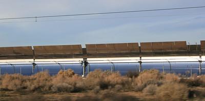 Kramer Junction Solar Electric Generating Station, Highway 395, Kramer Junction, CA. 11 Mar 2008