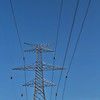 Electrical Wires and Pylon OverHead