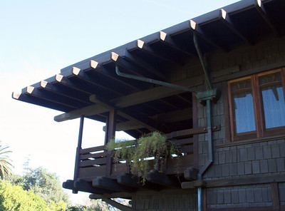 Gamble House, Pasadena, 11 Jan 2009