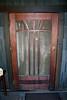 Sun and Rain motif on side door; Gamble House, Pasadena, 11 Jan 2009