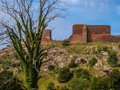 HammersHus Ruins at The isle of Bornholm. Photo: Martin Bager.