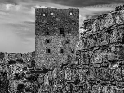 HammersHus Ruins at The isle of Bornholm. Photo: Martin Bager.