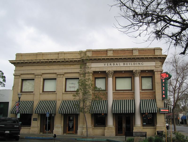 Verbal Building, Claremont, CA, 6 Feb 2005