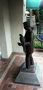 Frank Miller Statue Mission Inn 4 Oct 2010