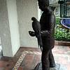 Frank Miller Statue<br /> Mission Inn<br /> 4 Oct 2010