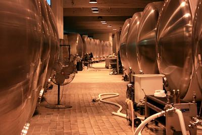 Domaine Chandon Winery, Yountville, CA. 30 Jun 2008.