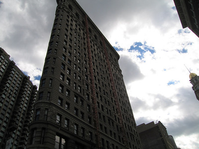 Fuller Building (Flatiron Building), Manhattan. 14 Oct 2007