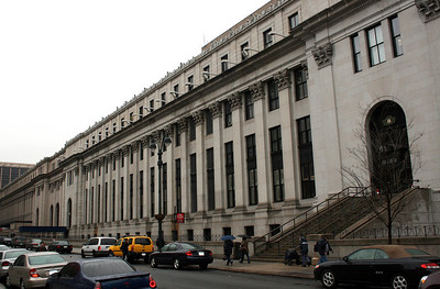 Central U.S. Post Office, Manhattan. 31 Mar 2008