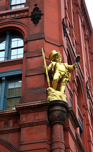 Puck Building, Manhattan. 31 Mar 2008