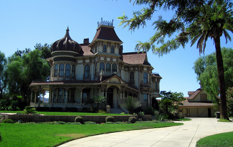 Morey Mansion, Redlands, CA. 23 Sep 2009