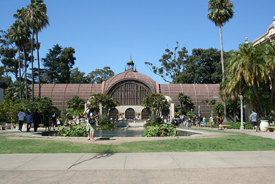 Botanical Building Balboa Park 5 Sep 2010