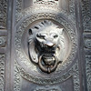 Lion ornament on a door.  San Francisco, 30 Jun 2008.