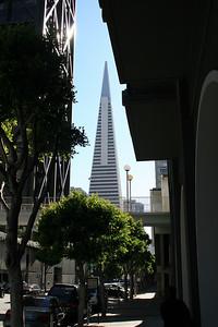Transamerica Building, San Francisco. 30 Jun 2008.