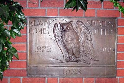 Bohemian Club plaque.  624 Taylor Street, San Francisco. 29 Jun 2008.