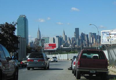 Manhattan skyline, 14 Oct 2007