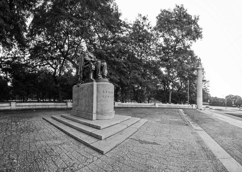 Abraham Lincoln statue, Grant Park, 7/23/2015