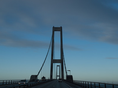 Great belt Brigde in Denmark. Photo: Martin Bager