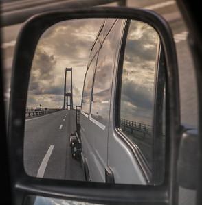 Storebæltsbroen reverse. Photo: Martin Bager