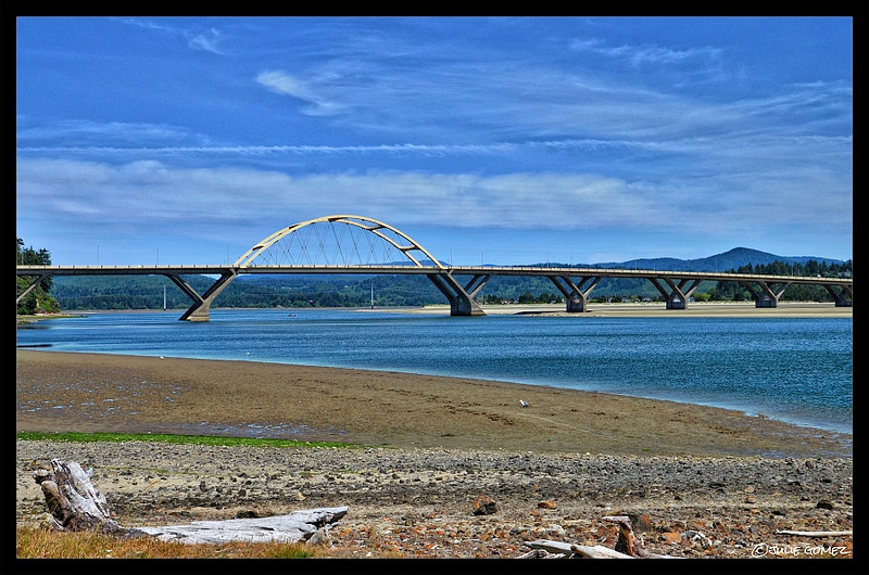 Alsea Bay Bridge—Built in 1936/Rebuilt in 1991