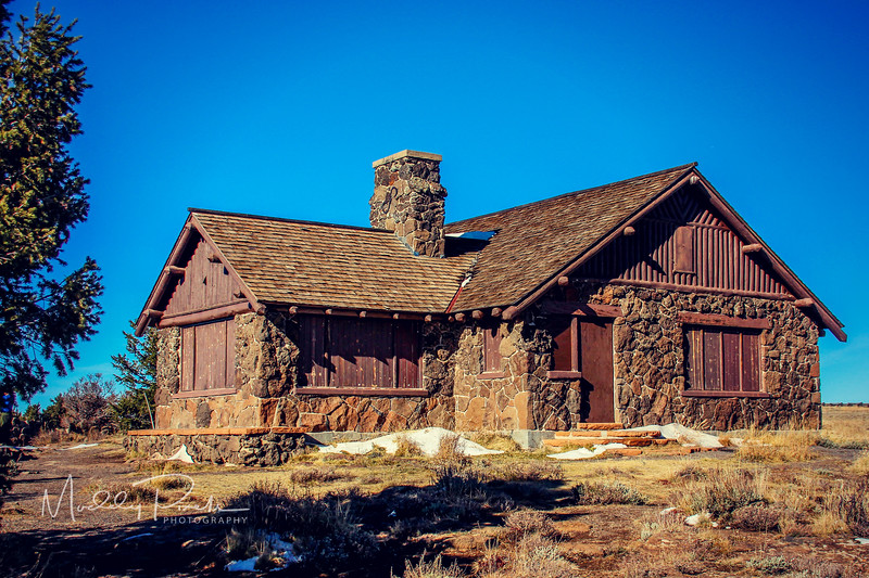 Isolated Building on Lands End
