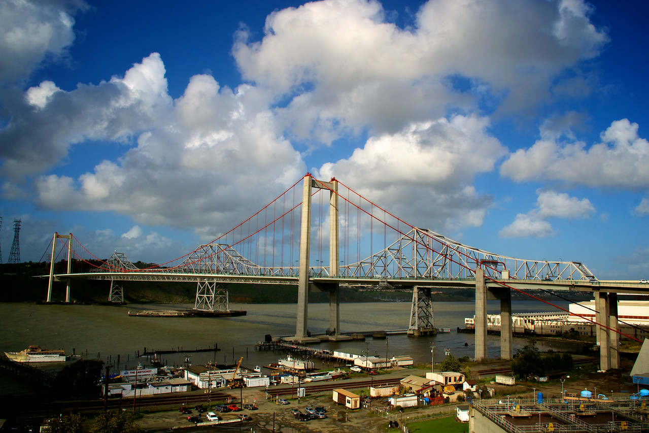 Carquinez Bridge from Crockett