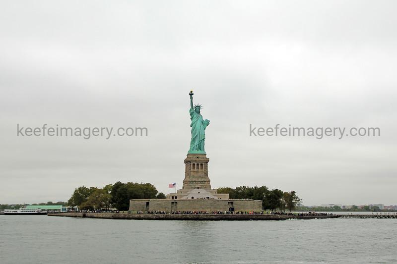 Lady Liberty, Liberty Island